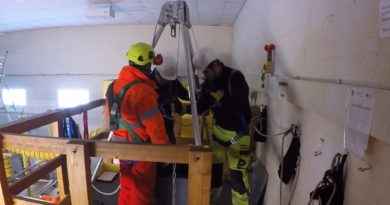 Medium Risk Confined Space Training Courses Tripod and Winch