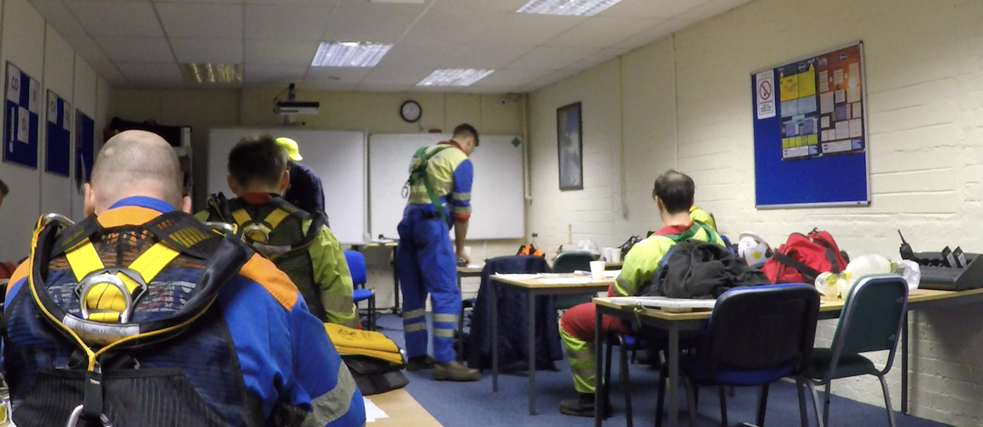 Confined Space Training Courses Classroom
